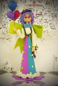 Clown Fairy ~ Adorable!