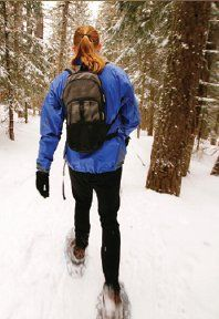 Snow shoe and Xcountry ski guide, picture idea