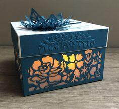 Detailed floral thinlits / Fleurs ouvragées - Scrarpwithsteph - boite / Box