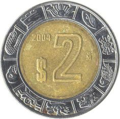 2 pesos coin..