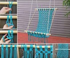 Macrame Crochet Hammock