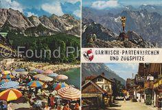 Vintage Postcard Garmisch Germany Color by foundphotogallery