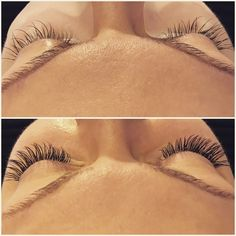 Before and after pure lash extensions 💖 Eyelashextensions lashes omg  IWANT SOME LASHES