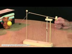 Toy Physics--- tumbling toy -part 2 /// Homemade Science with Bruce Yeany - YouTube