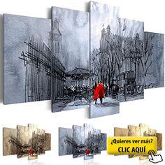 Cuadro en Lienzo 100x50 cm - 3 tres colores a... #cuadro