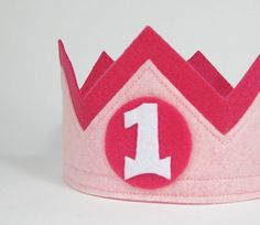 felt crown by @twolittlebluebirds on #etsy