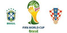 2014 FIFA World Cup Live Match 1 : Brazil Vs Croatia Live