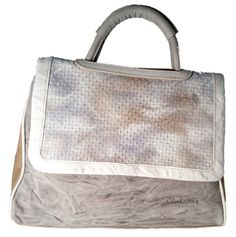 Clocharme leather bag made in Italy