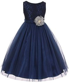 AkiDress Lace Top Tulle Bottom with Pearl Flower T-Length Dress for Big Girl Navy 6 Aki_Dress http://www.amazon.com/dp/B01B5FCK0G/ref=cm_sw_r_pi_dp_CJafxb1W5CPKH