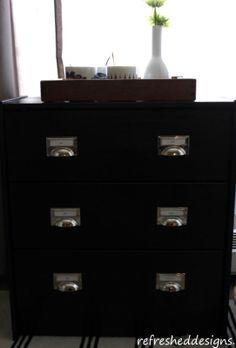 industrial-look IKEA RAST chest refresh   refresheddesigns.sustainable design