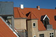 Tagboliger i Lindevangskvarteret, Frederiksberg. Af Pålsson Arkitekter AS.