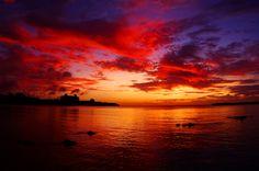 Beautiful Sunset at OKINAWA.