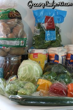 $50/week grocery budget w/ menus