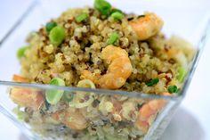 Quinoa Salteada com Camarões | FitChef - Larissa Lobão