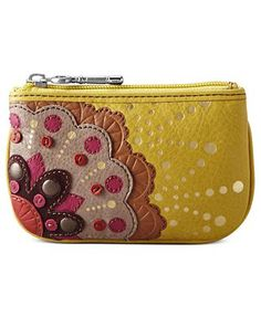 Fossil Perfect Gifts Leather Patchwork Coin Purse