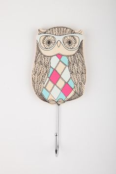 Owl wall hook - cotton on