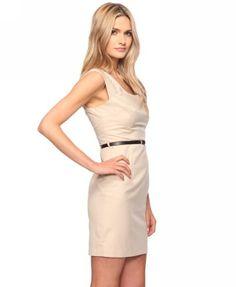 Pleated Sheath Dress $27.80