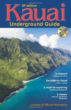 "Praised as ""the bible"" for Kauai (Travel & Leisure) and ""a must for visitors"" (Honolulu Advertiser), the newest edition (the 19th) of Kauai Underground Guide remains the longtime favorite for finding Kauai's best beaches, restaurants, tours, activities, adventures, and hidden beauty spots. With ""everything you need to know"" to discover Kauai (Hawaii Magazine), it's packed with adventure ideas and money-saving tips. Great for explorers — essential for families.* M"