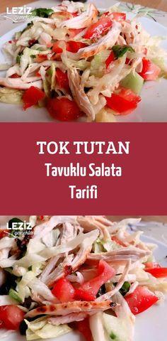 Tok Tutan Tavuklu Salata Tarifi Diet Recipes, Cabbage, Food And Drink, Mexican, Vegetables, Difficult Children, Ethnic Recipes, Kitchens, Recipies