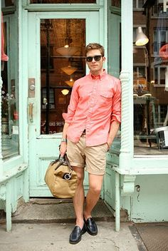 MenStyle1- Men's Style Blog Fashion Gallery, Mens Fashion Blog, Fashion Moda, Guy Fashion, Street Fashion, Summer Men, Summer Chic, Casual Summer, Summer Outfit