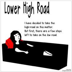 Lower High Road | Dianegrams