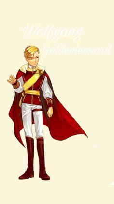 Wolfgang Goldenleonard, King's maker, wallpaper More Wallpaper, Wallpaper Backgrounds, Wallpapers, Manhwa Manga, Manga Anime, G Tattoo, King Diamond, King Cobra, Handsome Anime