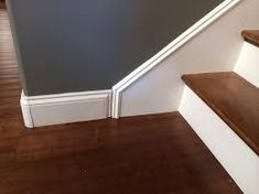 Image result for joinery skirting boards to staircase stringer