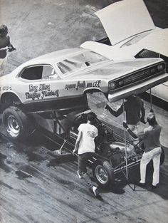 Ray Alley the Engine Masters Plymouth Duster AA/FC Funny Car