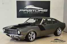 Ford Maverick V8 1977 Cinza - Pastore Car Collection..Re-pin...Brought to you by #CarInsurance at #HouseofInsurance in Eugene, Oregon