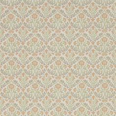 Style Library - The Premier Destination for Stylish and Quality British Design | Products | Morris Bellflowers Wallpaper (DMA4216438) | Archive IV - The Collector Wallpapers | By Morris & Co.