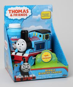 Bubbles & trains...a win-win combo. Thomas the Tank Engine Bubble Blower by Thomas & Friends @zulily