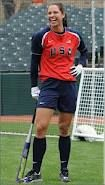 Womens USA softball team player, Jessica Mendoza