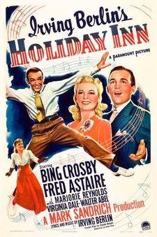 """White Christmas"" – Holiday Inn won Best Original Song in 1942"