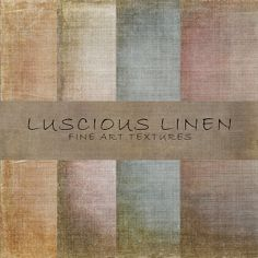Check out Luscious Linen fine art textures by 2 Lil Owls Studio on Creative Market