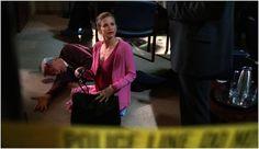 """Crime Scene Barbie"" all in pink (""The Closer"")"
