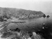 Vintage california beach photography