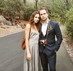 Patrick J. Adams and Troian Bellisario open up about their camp-themed California wedding Serie Suits, Suits Tv Shows, Cute Celebrity Couples, Cute Couples, Torian Bellisario, Gabriel, Patrick J Adams, Pretty Little Lairs, Spencer Hastings
