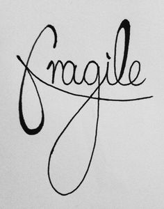 People are more fragile than they seem, but they're also stronger than they know.