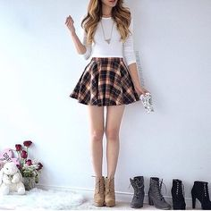 boots and skirts