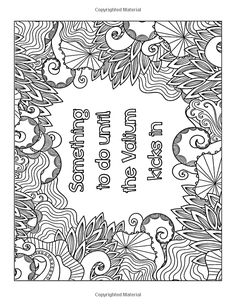 Calm The Fck Down An Irreverent Adult Coloring Book GoGetGlam Ceciley Marlar Swear Words Pages