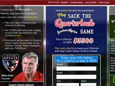 """Enter The Rudolph Foods """"Sack the Quarterback Game"""" Sweepstakes for a chance to win $3,500 and a year supply of Rudolph Foods Products!"""