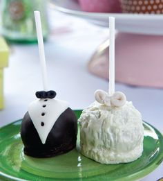 Popcakes para festa de casamento / DIY, Food, Candy