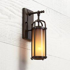 """Feiss Dakota 13 1/4"""" High Outdoor Wall Light"""