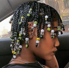 Black Girl Braids, Braids For Black Hair, Girls Braids, Natural Hair Braids, Natural Hair Styles, Short Hair Styles, Natural Hair Puff, Baddie Hairstyles, Box Braids Hairstyles