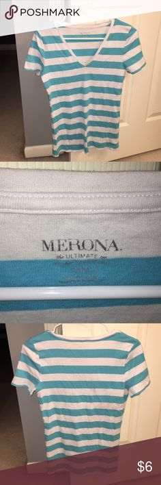 Merona shirt Perfect condition v neck tee shirt! Merona Tops Tees - Short Sleeve