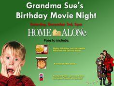 a home alone christmas party decor menu music holidays