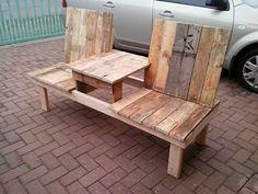 wooden garden bench - Google Search