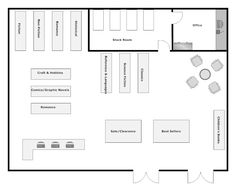 Bookstore layout home design house design, cafe bookstore, bookstore desi Plan Design, Layout Design, Bookstore Design, Cafe Bookstore, Store Plan, Store Layout, Shop Front Design, House Design, Shop Plans