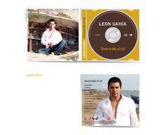 Buscando el Sol - Leon Sahìa - Music Album Cover - (P) & (C) M.C.Music Records  -58 Inverness Mews, E16 2SP, London. United Kingdom - © XILOGRAPHIC