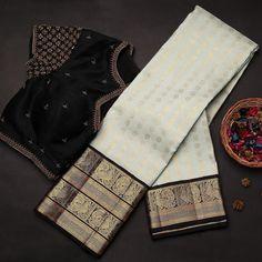 Latest Silk Sarees, Pure Silk Sarees, Fancy Blouse Designs, Bridal Blouse Designs, Silk Sarees Online Shopping, Pattu Saree Blouse Designs, Silk Saree Kanchipuram, Indian Bridal Sarees, Wedding Saree Collection